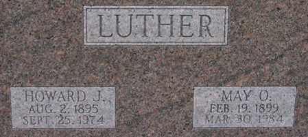 LUTHER, MAY - Dodge County, Nebraska | MAY LUTHER - Nebraska Gravestone Photos