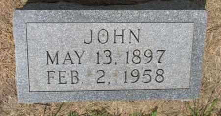 MALZAHN, JOHN - Dodge County, Nebraska   JOHN MALZAHN - Nebraska Gravestone Photos