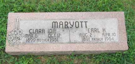 MARYOTT, EARL H - Dodge County, Nebraska | EARL H MARYOTT - Nebraska Gravestone Photos
