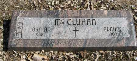 MCCLUHAN, JOHN A. - Dodge County, Nebraska | JOHN A. MCCLUHAN - Nebraska Gravestone Photos