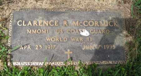 MCCORMICK, CLARENCE R. (MILITARY MARKER) - Dodge County, Nebraska | CLARENCE R. (MILITARY MARKER) MCCORMICK - Nebraska Gravestone Photos