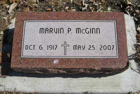 MCGINN, MARVIN P. - Dodge County, Nebraska | MARVIN P. MCGINN - Nebraska Gravestone Photos