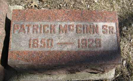 MCGINN, PATRICK, SR. - Dodge County, Nebraska | PATRICK, SR. MCGINN - Nebraska Gravestone Photos
