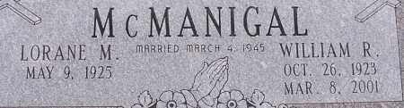 MCMANIGAL, WILLIAM R - Dodge County, Nebraska   WILLIAM R MCMANIGAL - Nebraska Gravestone Photos