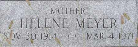 HELLER MEYER, HELENE - Dodge County, Nebraska | HELENE HELLER MEYER - Nebraska Gravestone Photos