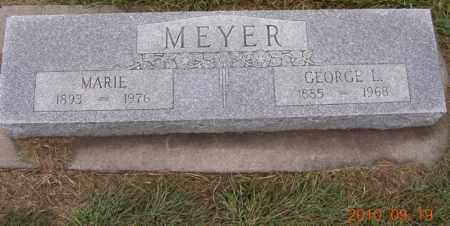 MEYER, MARIE - Dodge County, Nebraska | MARIE MEYER - Nebraska Gravestone Photos