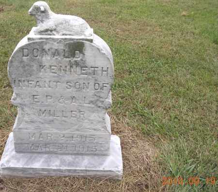 MILLER, DONALD KENNETH - Dodge County, Nebraska | DONALD KENNETH MILLER - Nebraska Gravestone Photos