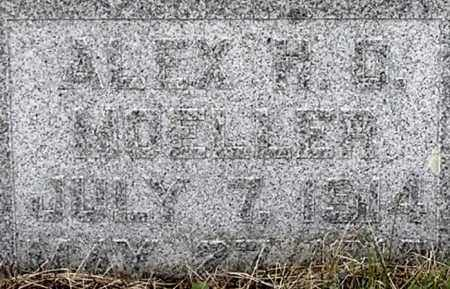 MOELLER, ALEX H C - Dodge County, Nebraska | ALEX H C MOELLER - Nebraska Gravestone Photos