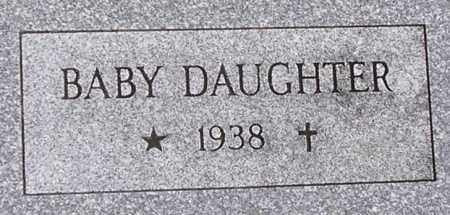 MOELLER, BABY DAUGHTER - Dodge County, Nebraska | BABY DAUGHTER MOELLER - Nebraska Gravestone Photos