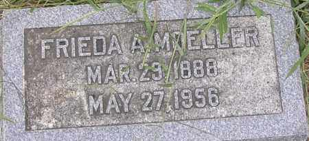 MOELLER, FRIEDA A - Dodge County, Nebraska   FRIEDA A MOELLER - Nebraska Gravestone Photos