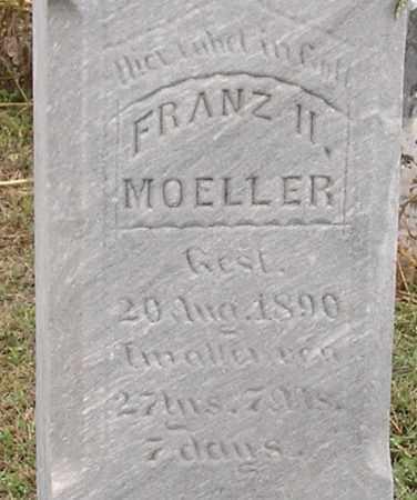 MOELLER, FRANZ II - Dodge County, Nebraska | FRANZ II MOELLER - Nebraska Gravestone Photos