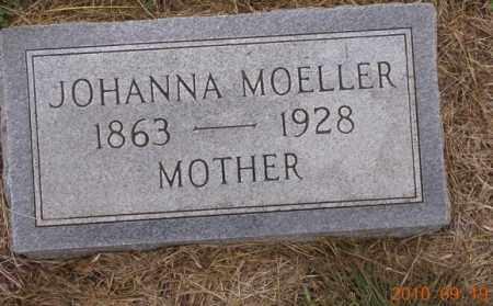 MOELLER, JOHANNA - Dodge County, Nebraska | JOHANNA MOELLER - Nebraska Gravestone Photos
