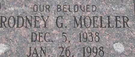 MOELLER, RODNEY G - Dodge County, Nebraska | RODNEY G MOELLER - Nebraska Gravestone Photos