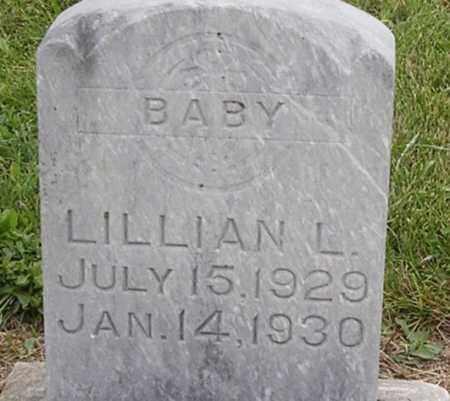 MOSEMAN, LILLIAN L - Dodge County, Nebraska | LILLIAN L MOSEMAN - Nebraska Gravestone Photos