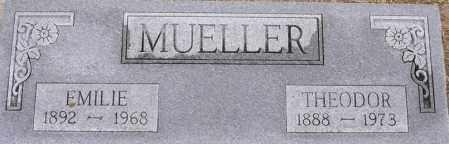 MUELLER, THEODOR - Dodge County, Nebraska | THEODOR MUELLER - Nebraska Gravestone Photos