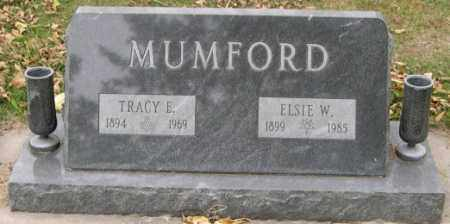 MUMFORD, TRACY ELLSWORTH - Dodge County, Nebraska | TRACY ELLSWORTH MUMFORD - Nebraska Gravestone Photos