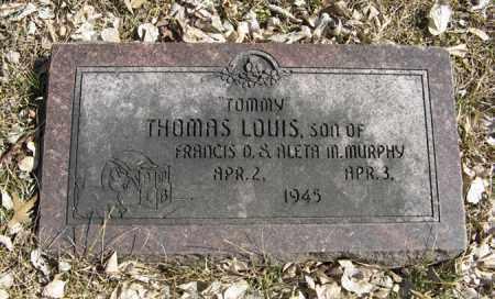 MURPHY, THOMAS LOUIS - Dodge County, Nebraska   THOMAS LOUIS MURPHY - Nebraska Gravestone Photos