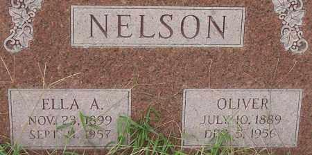 NELSON, ELLA - Dodge County, Nebraska | ELLA NELSON - Nebraska Gravestone Photos