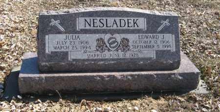 NESLADEK, JULIA - Dodge County, Nebraska   JULIA NESLADEK - Nebraska Gravestone Photos