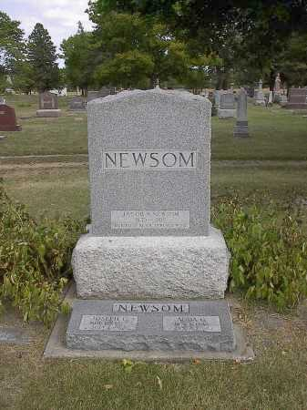GUTTERY NEWSOM, ADDA - Dodge County, Nebraska | ADDA GUTTERY NEWSOM - Nebraska Gravestone Photos