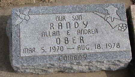 OBER, RANDY - Dodge County, Nebraska   RANDY OBER - Nebraska Gravestone Photos