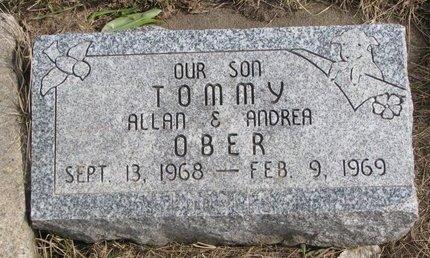 OBER, TOMMY - Dodge County, Nebraska | TOMMY OBER - Nebraska Gravestone Photos