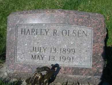 OLSEN, HARLEY R - Dodge County, Nebraska   HARLEY R OLSEN - Nebraska Gravestone Photos