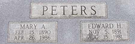 PETERS, MARY A - Dodge County, Nebraska | MARY A PETERS - Nebraska Gravestone Photos