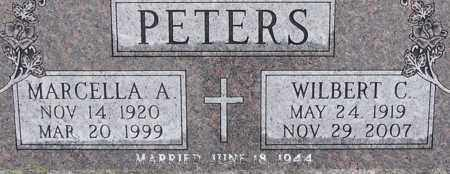 LAUDENKLOS PETERS, MARCELLA A - Dodge County, Nebraska | MARCELLA A LAUDENKLOS PETERS - Nebraska Gravestone Photos
