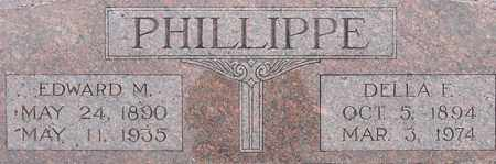PHILLIPPE, EDWARD - Dodge County, Nebraska | EDWARD PHILLIPPE - Nebraska Gravestone Photos