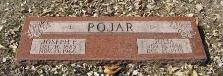 POJAR, JULIA - Dodge County, Nebraska | JULIA POJAR - Nebraska Gravestone Photos