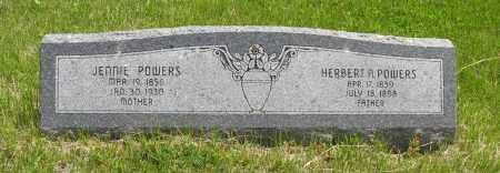 POWERS, HERBERT A. - Dodge County, Nebraska   HERBERT A. POWERS - Nebraska Gravestone Photos