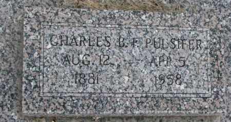 PULSIFER, CHARLES B.F. - Dodge County, Nebraska | CHARLES B.F. PULSIFER - Nebraska Gravestone Photos
