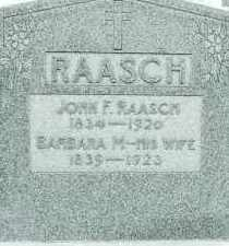 RAASCH, BARBARA M. - Dodge County, Nebraska | BARBARA M. RAASCH - Nebraska Gravestone Photos