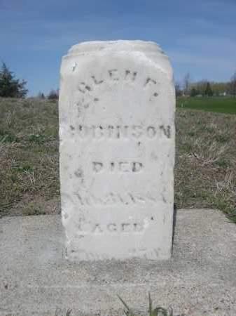 ROBINSON ?, GLENE - Dodge County, Nebraska   GLENE ROBINSON ? - Nebraska Gravestone Photos