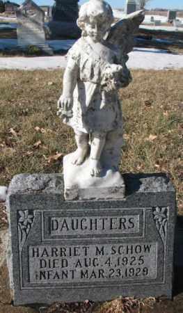 SCHOW, HARRIET M. - Dodge County, Nebraska | HARRIET M. SCHOW - Nebraska Gravestone Photos