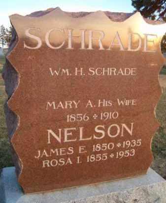 SCHRADE, WM H - Dodge County, Nebraska | WM H SCHRADE - Nebraska Gravestone Photos