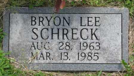 SCHRECK, BRYON LEE - Dodge County, Nebraska | BRYON LEE SCHRECK - Nebraska Gravestone Photos