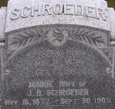 RAASCH SCHROEDER, MINNIE - Dodge County, Nebraska   MINNIE RAASCH SCHROEDER - Nebraska Gravestone Photos