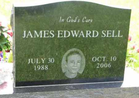 SELL, JAMES EDWARD - Dodge County, Nebraska | JAMES EDWARD SELL - Nebraska Gravestone Photos