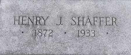SHAFFER, HENRY - Dodge County, Nebraska | HENRY SHAFFER - Nebraska Gravestone Photos