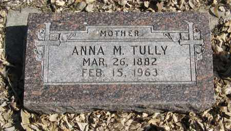TULLY, ANNA  M. - Dodge County, Nebraska | ANNA  M. TULLY - Nebraska Gravestone Photos