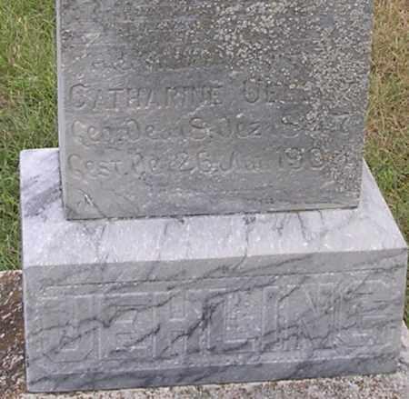KROEGER UEHLING, CATHARINE - Dodge County, Nebraska | CATHARINE KROEGER UEHLING - Nebraska Gravestone Photos
