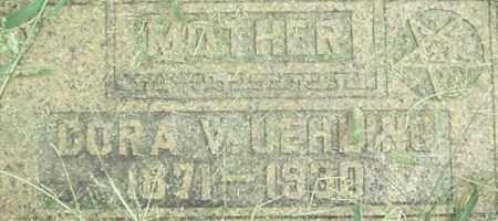 KELLER UEHLING, DORA - Dodge County, Nebraska | DORA KELLER UEHLING - Nebraska Gravestone Photos