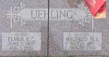 UEHLINNG, MILDRED M. L. - Dodge County, Nebraska   MILDRED M. L. UEHLINNG - Nebraska Gravestone Photos