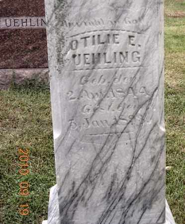 TRAUTVETTER UEHLING, OTILIE - Dodge County, Nebraska | OTILIE TRAUTVETTER UEHLING - Nebraska Gravestone Photos