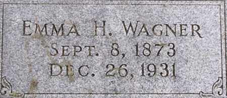 SCHWAB WAGNER, EMMA - Dodge County, Nebraska   EMMA SCHWAB WAGNER - Nebraska Gravestone Photos