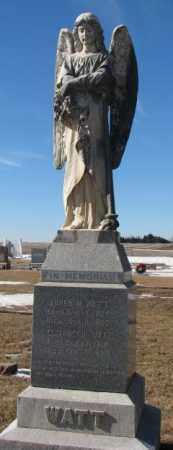 WATT, SOREN M. - Dodge County, Nebraska | SOREN M. WATT - Nebraska Gravestone Photos