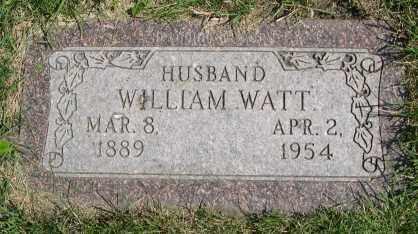 WATT, WILLIAM, JR. - Dodge County, Nebraska | WILLIAM, JR. WATT - Nebraska Gravestone Photos