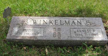 WINKELMAN, RUTH - Dodge County, Nebraska | RUTH WINKELMAN - Nebraska Gravestone Photos